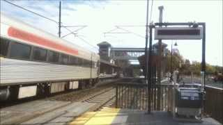 Acela Express, Northeast Regional and CCR Shore Line East at Westbrook