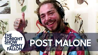 Post Malone Takes The Jump Scare Dare Challenge