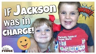 Can't say NO to Jackson! || IF KIDS WERE IN CHARGE