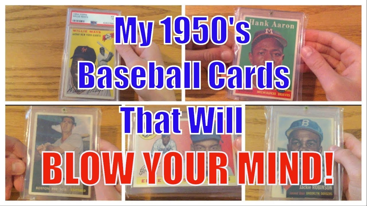 Best Baseball Cards From The 1950s My Card Collection