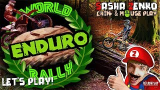 World Enduro Rally Gameplay (Chin & Mouse Only)