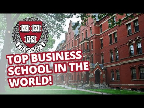 Harvard MBA student - getting into the top business school in the world!