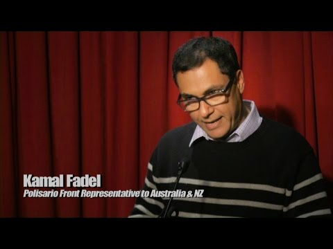 Politics in the Pub - WESTERN SAHARA - Kamal Fadel - 16/06/16