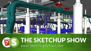 Detailed Pipe & Steelwork with 3Skeng for SketchUp  | SketchUp Show #71 (Tutorial)