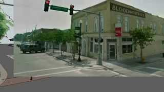 Perry, Fl Downtown Walk-through after Revitilization