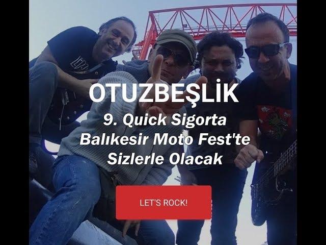 9. Quick Sigorta Balıkesir Moto Fest 35'lik Rock'n Blues Konseri