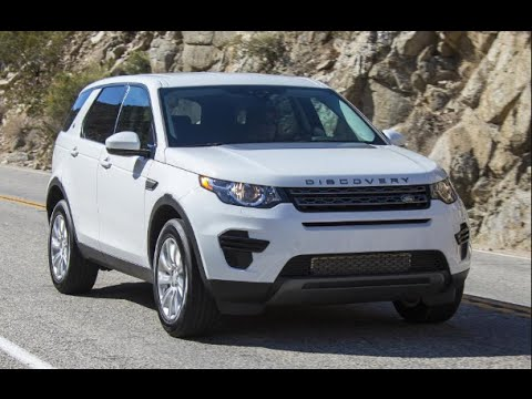 2017 Land Rover Discovery Sport Test Drive Review You