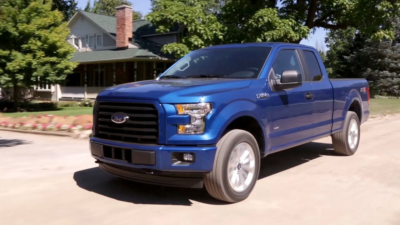 2017 Ford F-150 STX Appearance Package - YouTube