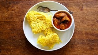 How to make Roti Jala {Net/Lacy Pancake} Mp3