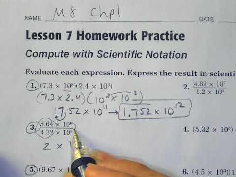 Math 8 Chapter 1 7 Worksheet Practice Morgan