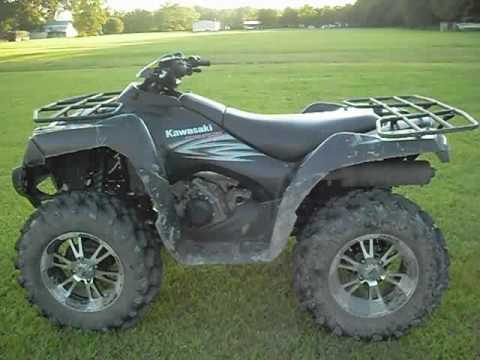 2007 Kawasaki Brute Force 750 4x4i walk around - YouTube