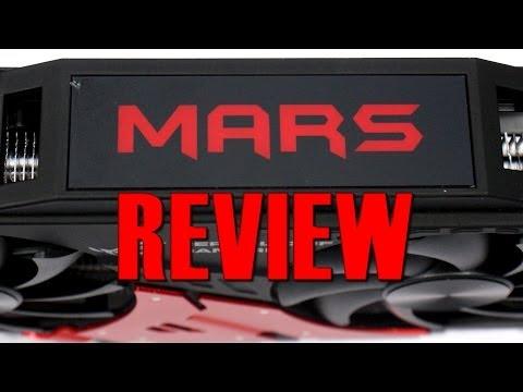 Asus MARS dual 760 Review MARS 3 III