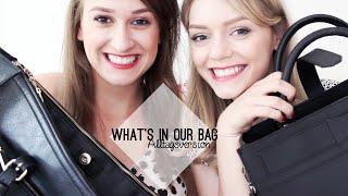 WHAT'S IN OUR BAGS |Alltagsversion