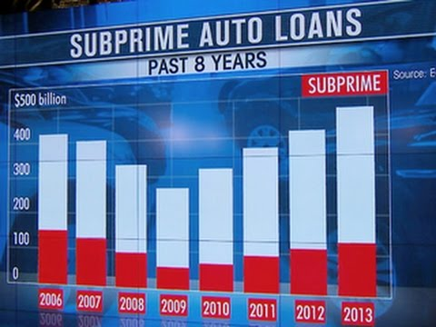 Subprime auto loans on the rise