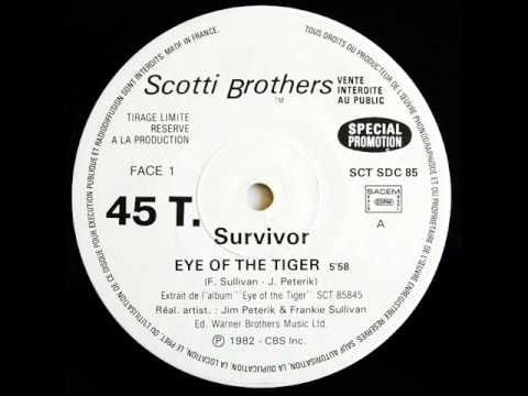 SURVIVOR - EYE OF THE TIGER (ROCKY 3 THEME) 1982