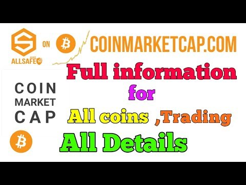 CRYPTO NEWS #052 || COINMARKETCAP FULL INFO AND STUDY FOR TRADING .