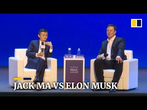 Face-off between Jack Ma and Elon Musk on AI in Shanghai