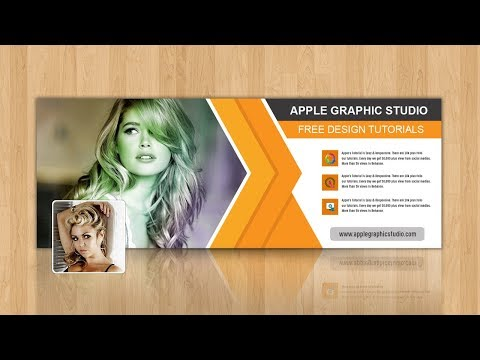 How To Make Facebook Cover Photo Design - Photoshop Tutorial