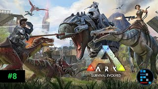 ARK SURVIVAL EVOLVED | RON LOST IN JUNGLE FUNNY MOMENTS