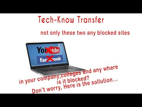 How to unblock blocked sites