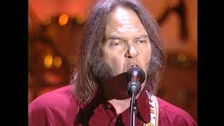 "Neil Young performs ""Act of Love"" at the 1995 Rock & Roll Hall of Fame Induction Ceremony"