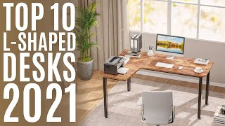 Top 10: Best L Shaped Desks of 2021 / Corner Office Desk / Corner Computer Desk, Gaming Desk & Table