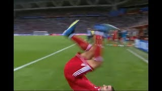 Iran's Milad Mohammadi Acrobatic Throw In Fail Vs Spain - World Cup 2018 Bloopers