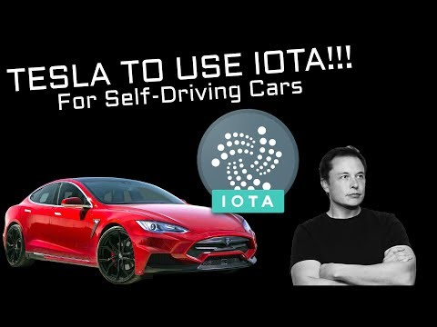 Tesla Will Use IOTA (Crypto) FOR Self-Driving Cars!