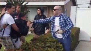 California off-duty police officer fires gun in scuffle
