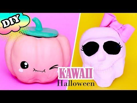 DIY KAWAII decoração HALLOWEEN feat Barbara Nassar | POLY SEGUNDA A SEXTA EP 14