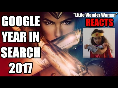 """""""Little Wonder Woman"""" reacts to being in ➤ Google Year in Search 2017"""