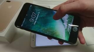 Apple iPhone 7 Plus Unboxing Verizon Gold 32 GB vs iPhone 7
