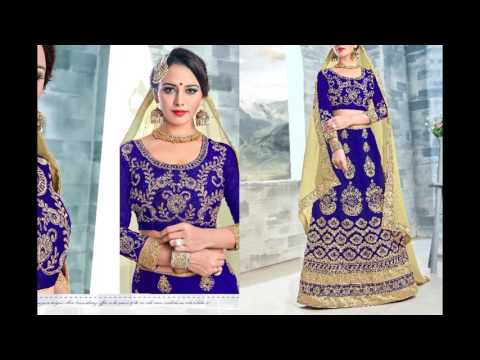 Hobbit Special Lehanga choli | Wedding wear | Suhani || Surat textile bazaar
