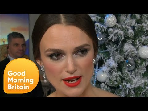 Keira Knightley Explains Her Ban on Disney Princesses | Good Morning Britain