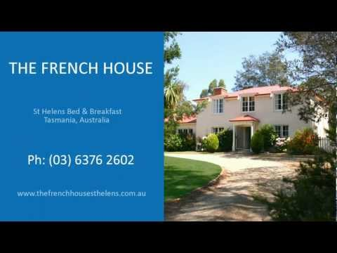 THE FRENCH HOUSE. St Helens B&B Accommodation Tasmania.