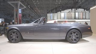 NY Auto Show: Hands-On With Rolls-Royce Phantom Drophead Coupe