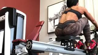 Греблевый тренажёр для мышц спины и кардио