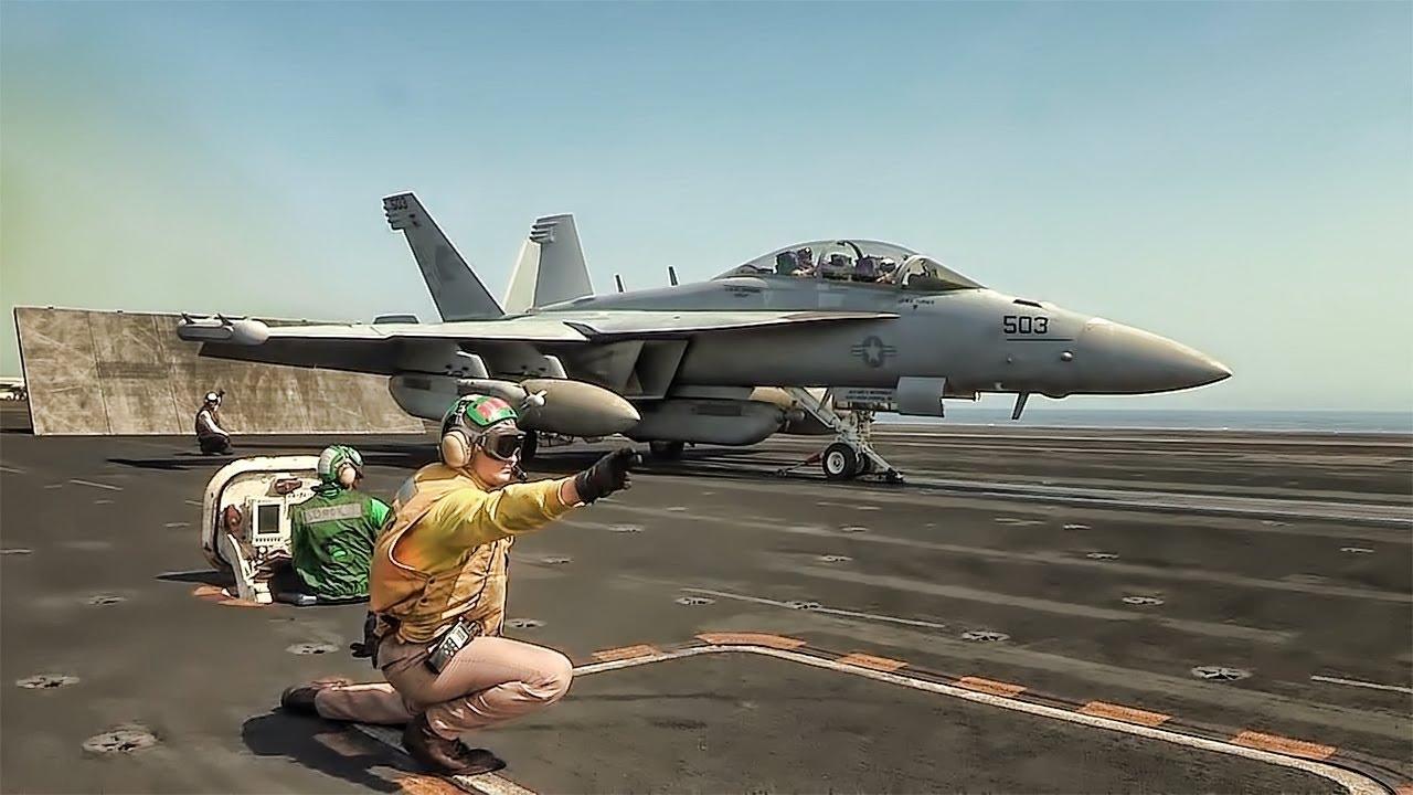 Video Pesawat Tempur Keren Takeoff Dan Landing YouTube