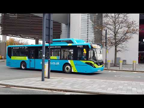 Two new green technology —— MAN Gas Bus and BYD Electric Bus in Liverpool