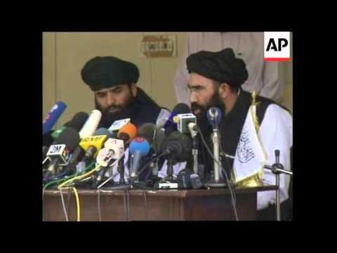 Media conference by Taliban representativ