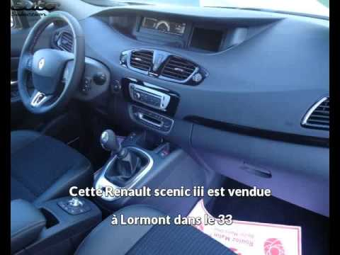 renault scenic iii occasion visible lormont pr sent e par vpn bordeaux lormont youtube. Black Bedroom Furniture Sets. Home Design Ideas