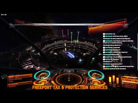 The usual shenanigans & CMDR Phoenix 1v1 - Freeport Tax and Protection Services Dashcam 1