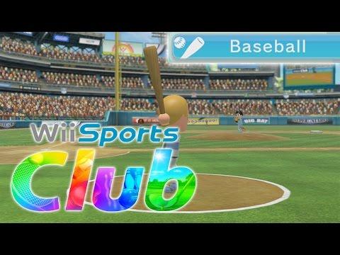 Wii Sports Club [Wii U] - Baseball