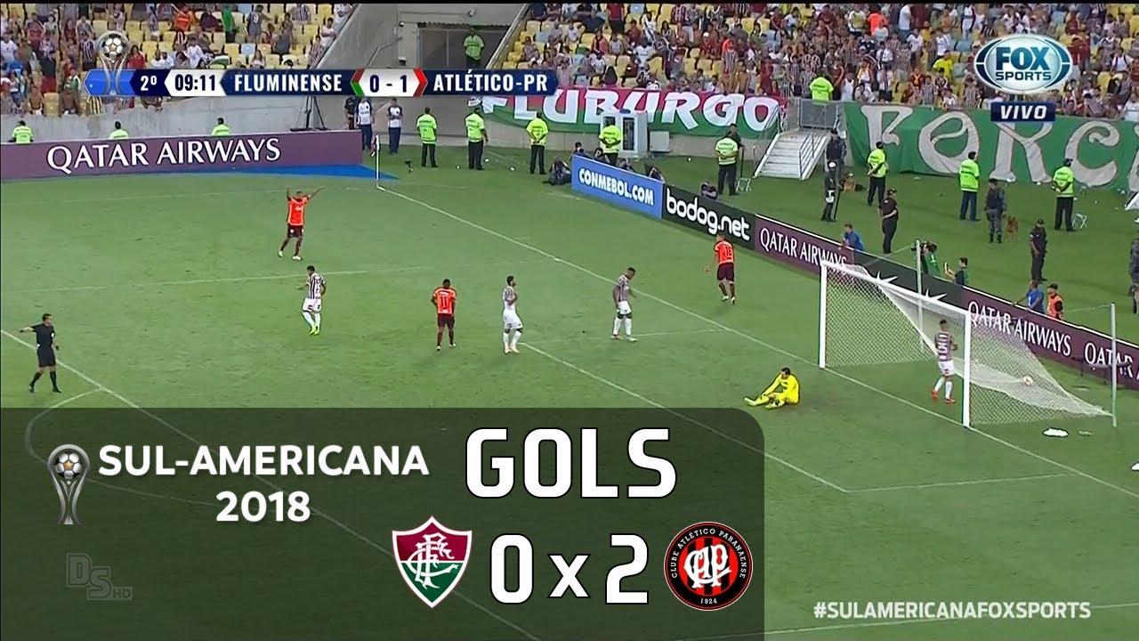 Fluminense 0 x 2 Atlético Paranaense - Semifinal Sul-Americana 2018 ... 3493ad1441be3