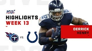 Derrick Henry Runs Past Colts for 149 Yds & 1 TD | NFL 2019 Highlights
