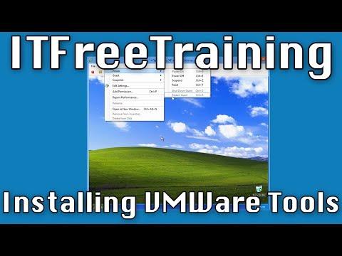 Installing VMWare Tools