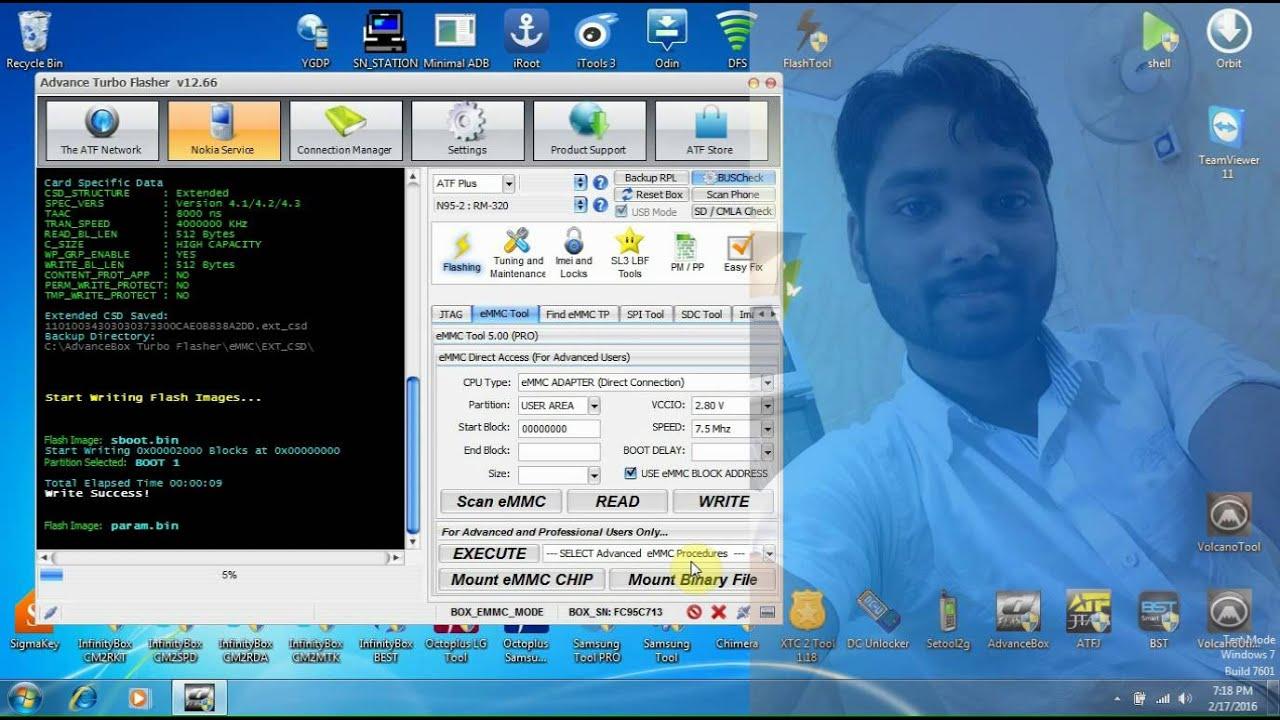 Samsung Galaxy J7 SM J700F Write Bootloader To EMMC Dead