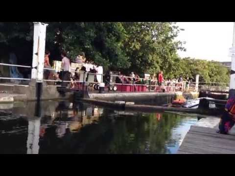 Canal party - Hackney WickED
