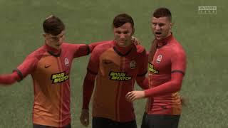 FIFA 21 | Shakhtar Donetsk (alt.) - Rayo Vallecano (alt.) ('REAL FACES') (NL commentaar)