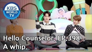 Addicted to the cute whip sound.. [Hello Counselor/ENG, THA/2019.02.04]